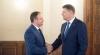 Speakerul Andrian Candu a avut o întrevedere cu președintele României, Klaus Iohannis