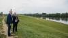 Pavel Filip a verificat care este starea digului de protecţie împotriva inundaţiilor de la Dubăsari