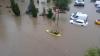 PUBLIKA WORLD. Imagini APOCALIPTICE în Tulcea. Apa a INUNDAT străzi şi a luat zeci de maşini (VIDEO)