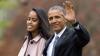 Soții Obama au sărbătorit-o pe Malia care a terminat liceul și pe Sasha care a împlinit 15 ani