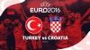EURO 2016: Croaţia a bătut Turcia cu scorul de 1-0
