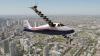 NASA va produce un avion care va zbura cu ajutorul a nu mai puţin de 14 motoare electrice (FOTO)
