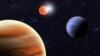 DESCOPERIRE MAJORĂ: Astronomii au identificat cea mai mare planeta care orbitează în jurul a doi sori