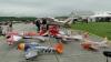 #LIKEPUBLIKA: Distracţie pentru sutele de amatori de avioane ghidate prin telecomandă (VIDEO)
