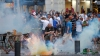 MĂCEL între suporteri la Marseille. Ruşii S-AU LUAT LA BĂTAIE cu rivalii francezi (VIDEO)