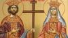 Sfinţii Constantin şi Elena, sărbătoriţi de ortodocşii de stil vechi. Câţi moldoveni poartă aceste nume