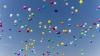"""""""Nu am uitat de ei!"""" Mămicile de îngeri au lansat baloane colorate către cer"""