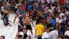 EURO-2016: Spectacolul fotbalistic a fost umbrit de violenţele dintre fani
