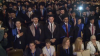 """""""O să îmi fie foarte tare dor de Moldova"""" Sute de studenţi străini au depus jurământul lui Hipocrate"""