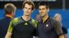 Novak Djokovic şi Andy Murray vor juca în finala celui de-al doilea turneu de Mare Şlem
