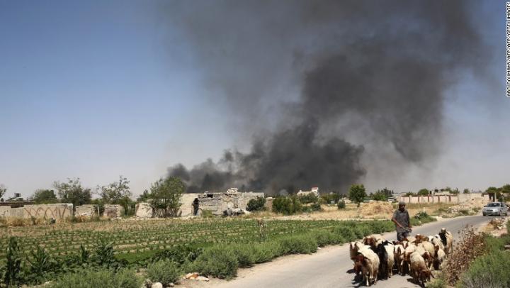 UNICEF: 25 de copii au fost UCIŞI în estul Siriei, în cel mai recent raid aerian al Rusiei