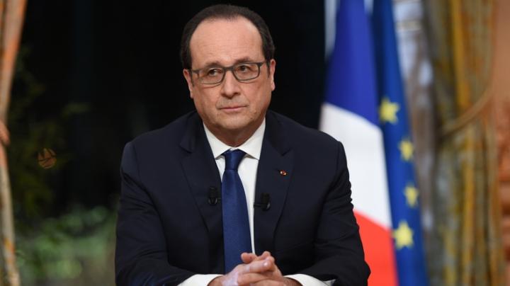Președintele Francois Hollande se află într-o situație inedită. DETALII