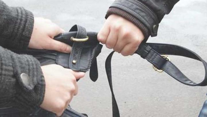 Le-a lovit, le-a doborât la pământ şi le-a furat geanta. FURT ca în filme în Capitală (VIDEO)