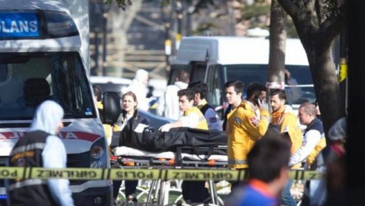 Erdogan îi acuză pe rebelii kurzi de atentatul cu bombă de la Istanbul