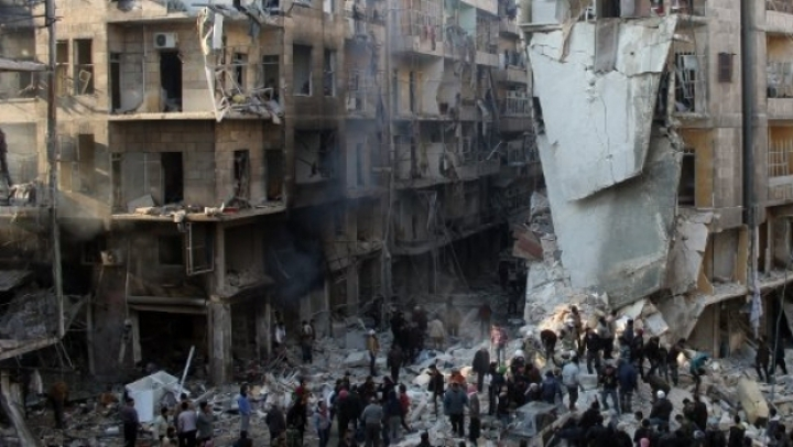 Bombardamente și lupte grele în zona orașului Alep din Siria
