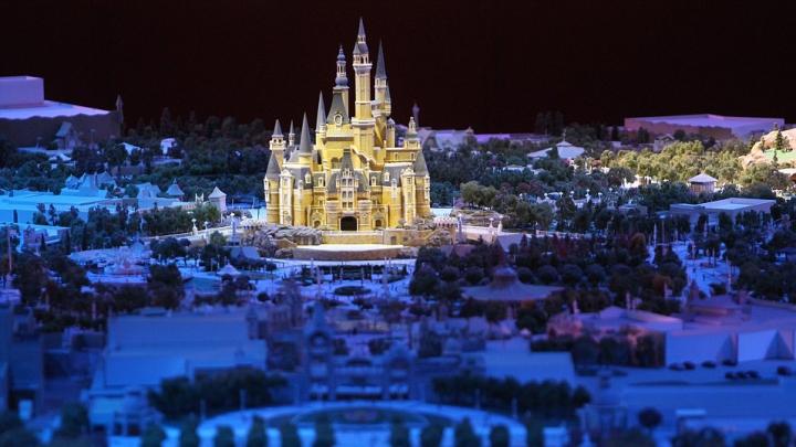 SPECTACULOS! Cum arată primul parc Disney din China (VIDEO)
