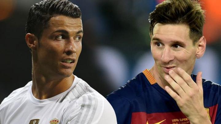 SURPRIZĂ! Francezii au confecţionat statui marilor jucători Cristiano Ronaldo şi Lionel Messi