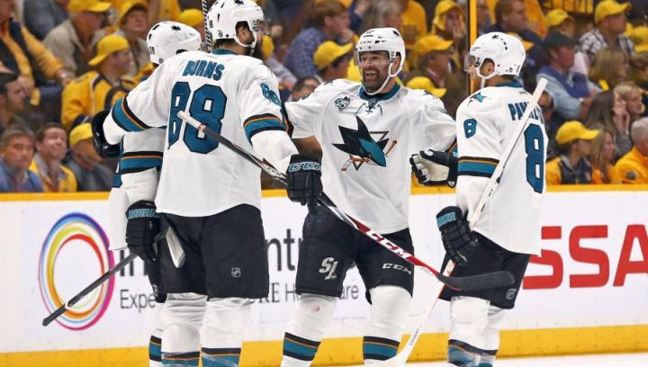 San Jose Sharks a pierdut partida de pe teren propriu cu Pittsburgh Penguins