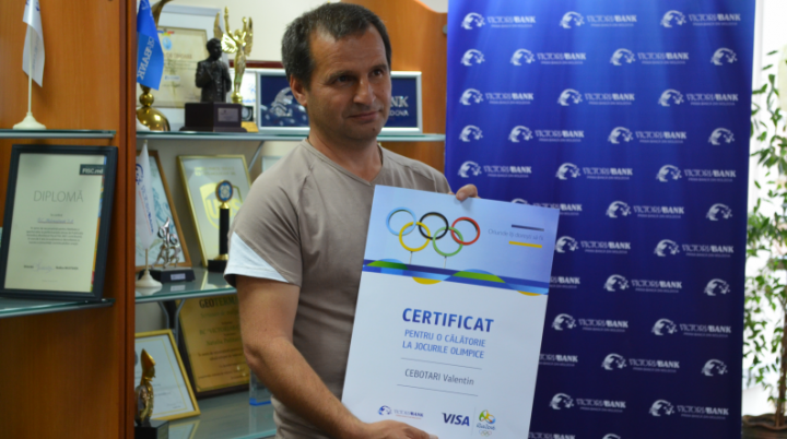 (P) Victoriabank și-a ales clientul câștigător care va pleca la deschiderea Jocurilor Olimpice 2016 din Rio