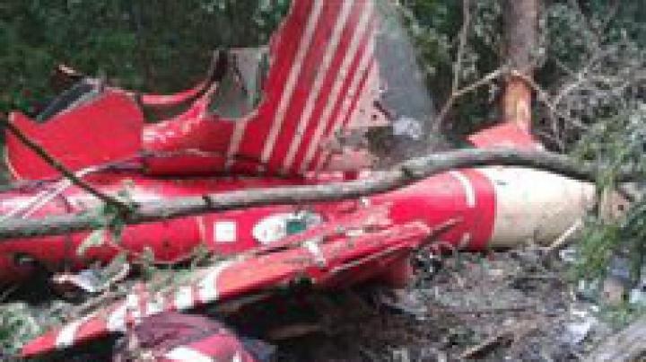 Noi imagini de la prăbuşirea elicopterului SMURD