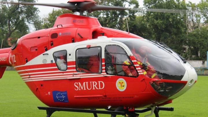 EXCLUSIV! PRIMELE IMAGINI de la locul în care s-a prăbușit elicopterul SMURD