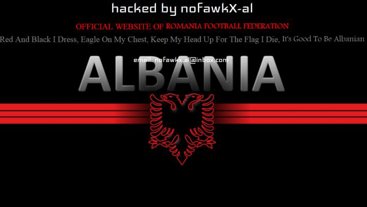 PEDEAPSĂ pentru tricolori! Site-ul Federaţiei Române de Fotbal a fost spart de hackeri
