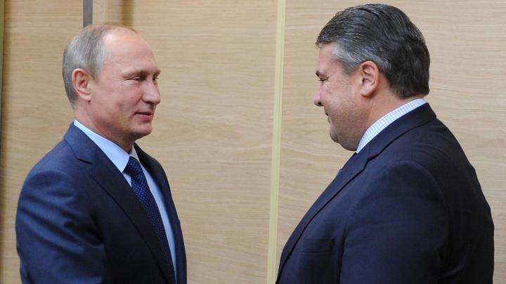Vicecancelarul german, Sigmar Gabriel, se va întâlni săptămâna viitoare cu Putin la Moscova
