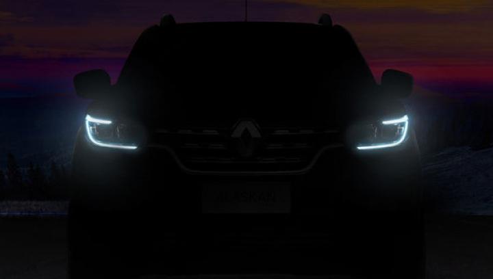 Renault Alaskan îşi arată colţii într-un teaser înaintea lansării (VIDEO)