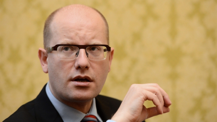 Prim-ministrul Cehiei va întreprinde astazi o vizită oficială la Chișinău
