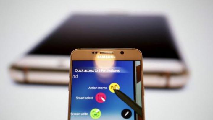 Samsung Galaxy Note 7, primul smartphone cu funcţie de scanare a irisului