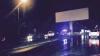 MOMENTUL în care un BMW se izbeşte într-un panou publicitar (VIDEO)
