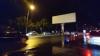 GRAV ACCIDENT în Capitală! O maşină a fost făcută ZOB după ce s-a izbit într-un panou publicitar (FOTO)
