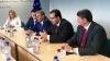 Mesaje de apreciere de la Bruxelles. Lupu şi Ghimpu au avut o întrevedere cu demnitari europeni