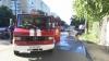 FILMUL GROAZNICULUI ACCIDENT de la Ciocana, unde în urma impactului un automobil A LUAT FOC (VIDEO)