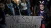 Mii de suporteri s-au adunat pe străzile din Buenos Aires. Microbiştii cer REVENIREA lui Messi la Naţională