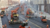 ASFALTARE în timp RECORD în Rusia! Un bulevard a fost renovat în 24 de ore (VIDEO)