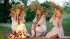 Ritualuri de Sânziene. Ce fac fetele din satul Parcova, raionul Edineţ, în această zi