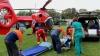 Un moldovean, care era tratat la un spital din Iași, adus la Chișinău cu un elicopter SMURD