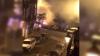 EXPLOZIE PUTERNICĂ. Cel puţin şapte maşini au fost incendiate (VIDEO)