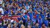 ATMOSFERĂ INCENDIARĂ. Cum au fost primiți fotbaliștii Islandei când s-au întors acasă (VIDEO)