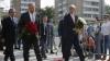 Kerry și Lavrov au adus împreună un omagiu la ambasada Franței din Moscova