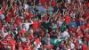 Euro 2016: Nebunie la Cardiff! Jucătorii echipei de fotbal a Țării Galilor au fost primiţi ca nişte eroi