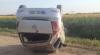 Accident rutier GRAV la Cimișlia. Un diplomat turc s-a răsturnat cu mașina (VIDEO)