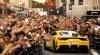Raliu cu mașini Ferrari. Șoferii au fost binecuvântaţi de un preot, iar automobilele sfințite