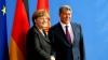 Merkel la Bișkek: Germania este interesată într-o ameliorare grabnică a relațiilor cu Rusia
