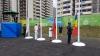 Drapelul Republicii Moldova, arborat în Satul Olimpic din Rio de Janeiro (FOTO)