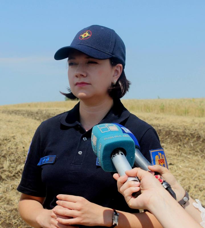 Campanie de prevenire a incendiilor pe timpul secerişului. Ce spun pompierii (GALERIE FOTO)