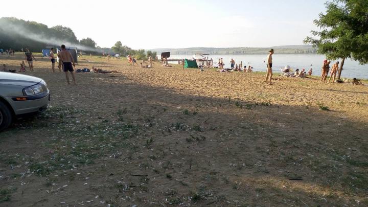 NO COMMENT: Cum arată plaja din Ghidighici într-o zi de duminică (FOTO)