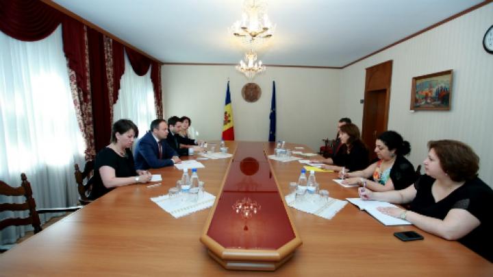 Andrian Candu a avut o întrevedere cu echipa de experți ai FMI (FOTO)