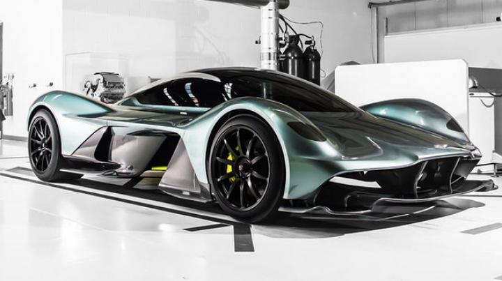 SENZAŢIE pe piața automobilistică! Aston Martin a prezentat un monstru pe roți (VIDEO)